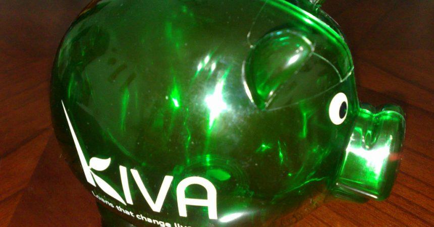 Loan some money via Kiva